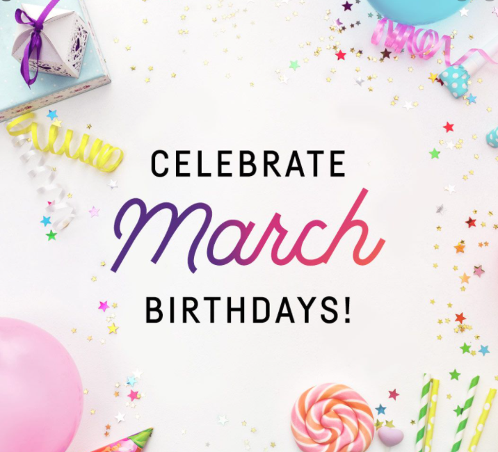 March Birthdays
